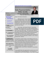 House District 7 March Newsletter