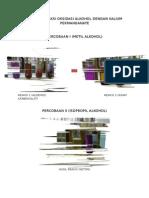 Gambar Reaksi Oksidasi Alkohol Dengan Kalium Permanganate
