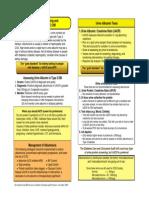 DM Algorithm Urine Alb 508c