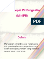Kontrasepsi Pil Progestin (MiniPil)