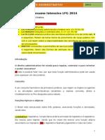 DIREITO ADMINISTRATIVO INTENSIVO LFG 2014 + RESOLUÇÃO DE QUESTÕES (1)