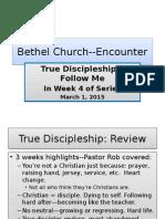 Bethel Encounter Discipleship March 1 2015