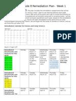 fcat science grade 8 remediation plan