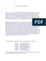 IB Marking and Repsdccdorting Regulations