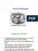 Induction Motor General Principle
