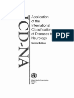 Application of the International Classification of Diseases to Neurology (2nd Ed., 1997)