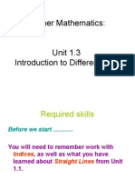 Higher Maths 1.3