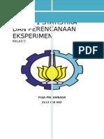 Tugas 1 Statistika Dan Perencanaan Eksperimen