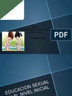 educacion sexual nivel inicial