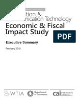 ICT Economic Report - Executive Summary (1)