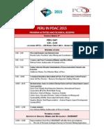 Peru Program in PDAC 2015