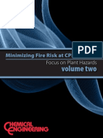Minimizing Fire Risk at CPI Facilities Volume 2