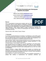2011 Utilizacao QFD Ferramenta Hierarquizar Requisitos Projeto