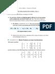 IB Further Math - Linear Algebra Summary