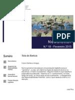 Newsletter CAMMP n.º 18 de Fevereiro de 2015