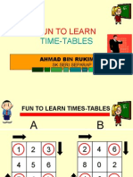 Fun to Learn Times-Tables