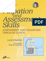 Palpation and Assessment Skills