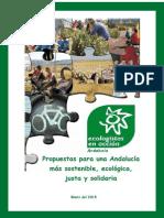 Propuestas Ambientales Para Las Proximas Elecciones Andaluzas 2015, (Documento Completo)