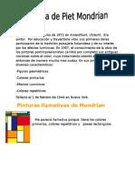 Biografia de Piet Mondrian...