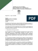 Ponencia 2 Dbte Pl- 71 2007 Senado - Jorge Ballesteros Piercing y Tatuaje 2008-1 (1)