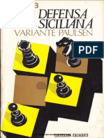 Defensa Siciliana - Variante Paulsen