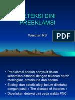 Deteksi Dini Preeklamsi