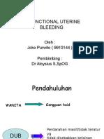 Disfunctional Uterine