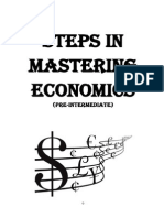 Steps in Mastering Economics i