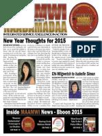 MAAMWI NEWSPAPER Winter 2015