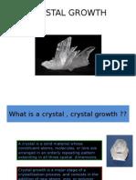 Cyrstal Growth