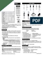 Códigos para componentes eletrônicos