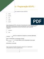 Programaçao ADVPL Versão 10