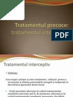 Curs 14_DPT Interceptia in Ortodontie. Alte Posibilitati de Tratament Ortodontic