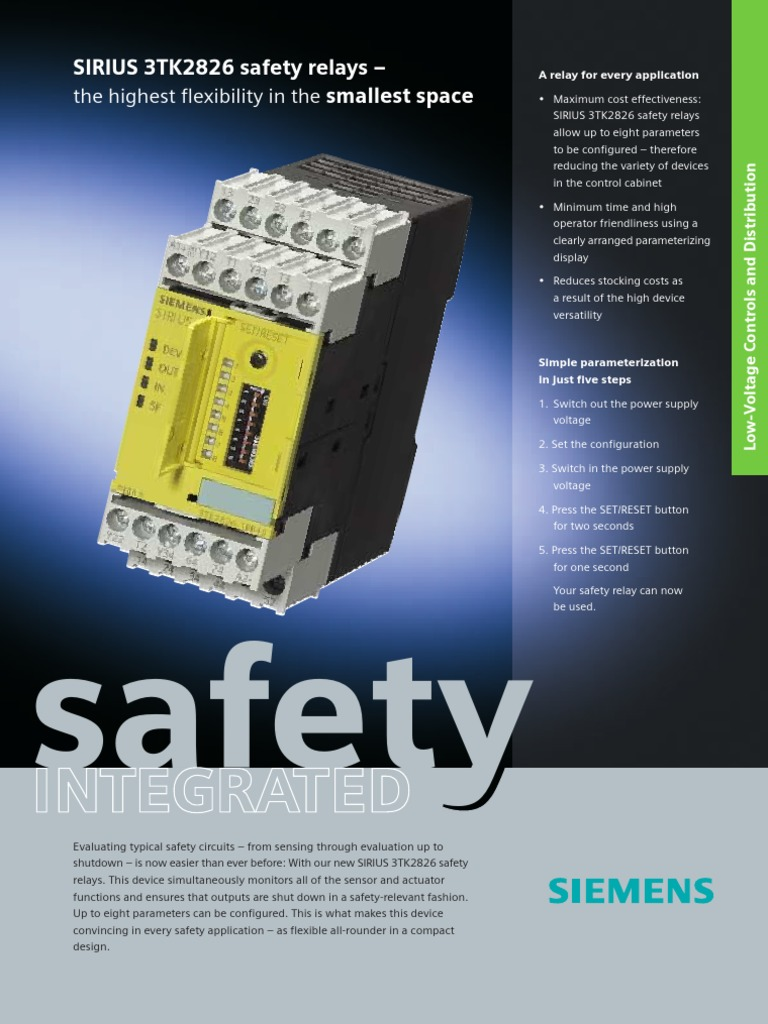 Safety Relay Switch Debounce