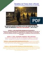 Quartiers sensibles en France