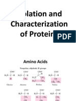 Isolation and Characterization of Proteins