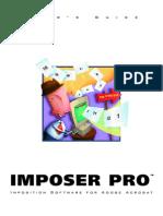 Imposer Pro Acrobat Manual