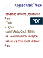 Origins of Greek