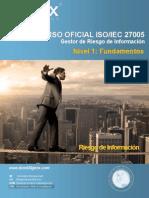 Curso 27005  RiskManager/Gestor del Riesgo de Información