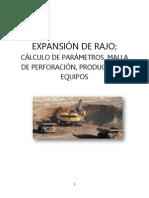 Analisis de Expansion - Mineria a Rajo Abierto