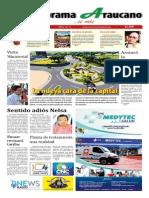 Periódico Panorama Araucano edición N° 14 año 2015.
