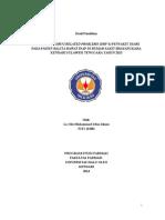 IDENTIFIKASI DRUG RELATED PROBLEMS (DRP'S)
