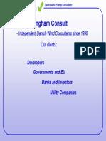 Key-factors in Wind Farm Development, Ingham Consult, Sofia Jun06