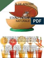 Stand de Sucuri Naturale
