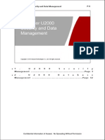 (10) IManager U2000 Security and Data Management
