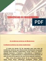 Tendências Do Modernismo