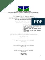 Caracterização e Análise crítica do Paisagismo do Instituto Central de Ciências da Universidade de Brasília