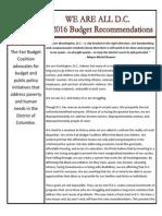 Fbc Budget Report Fy16m-Final