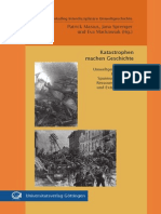 Katastrophen machen Geschichte
