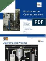Produccion de Cafe instantaneoI